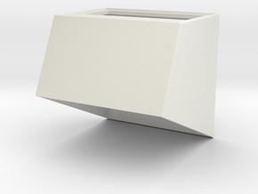 1.6 COCKPIT EC 145  SUPPORT 1 in White Natural Versatile Plastic