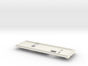 1.6 COCKPIT EC 145 DASH BOARD 3 in White Natural Versatile Plastic