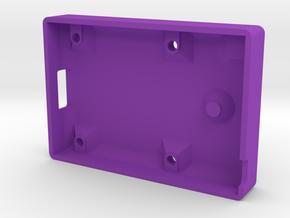 KISS Keychain Configurator Case - Bottom (2/2) in Purple Processed Versatile Plastic