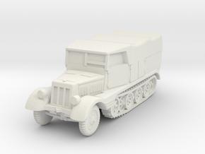 Sdkfz 11 (covered) 1/56 in White Natural Versatile Plastic
