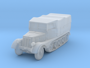 Sdkfz 11 (covered) 1/160 in Smooth Fine Detail Plastic