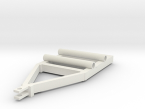 1/64 nurse trailer prt 2 in White Natural Versatile Plastic: 1:64 - S