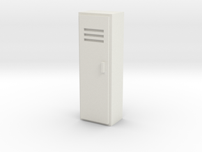Locker 1/43 in White Natural Versatile Plastic