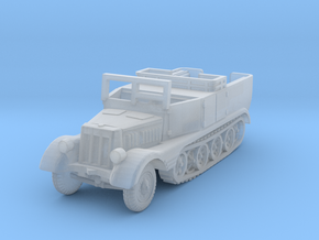 Sdkfz 11 (open) (window up) 1/220 in Smooth Fine Detail Plastic