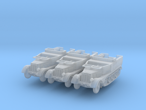 Sdkfz 11 (open) (window down) (x3) 1/200 in Smooth Fine Detail Plastic