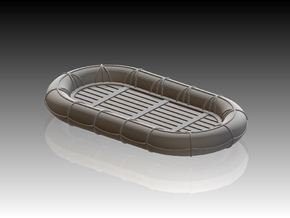 12ft x 8ft Carley float 1/150 in Smooth Fine Detail Plastic