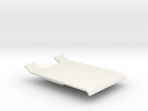 Nikko F10, lobo, Frame buggy roof,  in White Natural Versatile Plastic