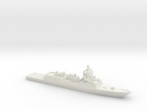 Fridtjof Nansen-class frigate, 1/1800 in White Natural Versatile Plastic