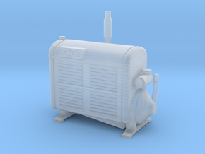 1:87 Minneapolis Moline 605-6A stationary engine  in Smooth Fine Detail Plastic