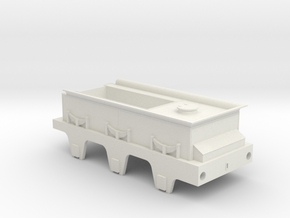 jenny lind tender 7mm scale in White Natural Versatile Plastic