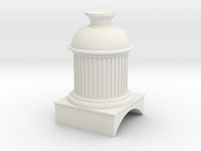 EB Wilson dome version 2 7mm scale in White Natural Versatile Plastic