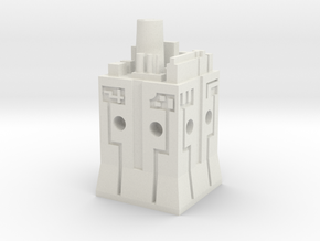 Transformers War for Cybertron Weapon Tower in White Natural Versatile Plastic
