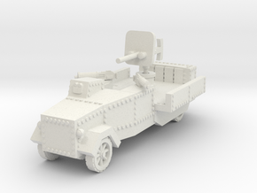 Seabrook Armoured Lorry 1/87 in White Natural Versatile Plastic