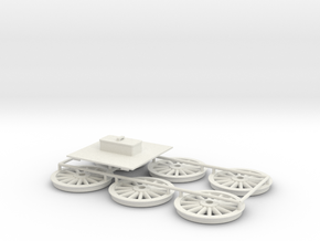 Stephenson Tender Accessories G1 in White Natural Versatile Plastic
