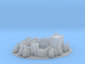 Castle /keep /fortified manor /fort in Smooth Fine Detail Plastic