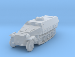 Sdkfz 251 D Closed Concept 1/144 in Smooth Fine Detail Plastic