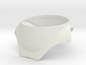 1/6 RADOME 2 EC 145 in White Natural Versatile Plastic