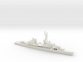 1/500 Scale Sumner Class FRAM 2 6 Gun in White Natural Versatile Plastic