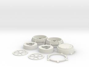 3M 6200 Adaptor in White Natural Versatile Plastic