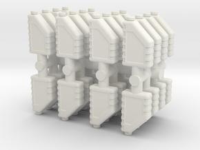 Motor Oil Bottle (x32) 1/64 in White Natural Versatile Plastic