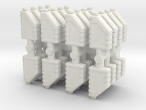 Motor Oil Bottle (x32) 1/56 in White Natural Versatile Plastic