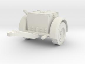 German Ammo Limber 1/35 in White Natural Versatile Plastic