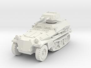 Sdkfz 253 with Pz I Turret 1/72 in White Natural Versatile Plastic