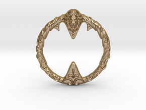 Resident Evil 0: Gold Ring in Polished Gold Steel