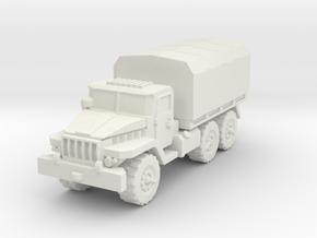 Ural-375 1/72 in White Natural Versatile Plastic