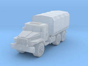 Ural-375 1/285 in Smooth Fine Detail Plastic