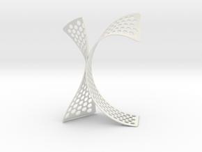 K in White Natural Versatile Plastic