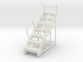 Warehouse Ladder 1/76 in White Natural Versatile Plastic