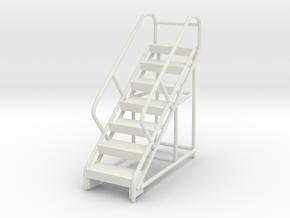 Warehouse Ladder 1/72 in White Natural Versatile Plastic