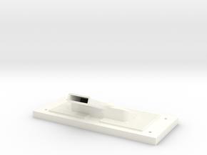 trxu06-02 Traxxas UDR Fan Rear Panel in White Processed Versatile Plastic