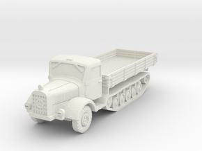 Mercedes L4500 R early 1/100 in White Natural Versatile Plastic