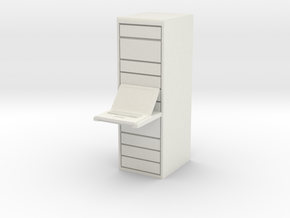 Computer Server 1/12 in White Natural Versatile Plastic