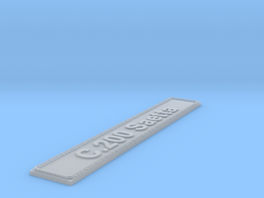 Nameplate C.200 Saetta in Smoothest Fine Detail Plastic