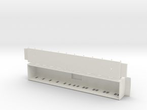 BCo2 - Swedish passenger wagon in White Natural Versatile Plastic