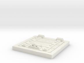 Wooden Trapdoor 1/35 in White Natural Versatile Plastic