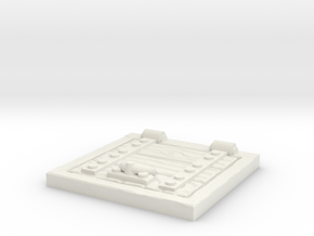 Wooden Trapdoor 1/24 in White Natural Versatile Plastic