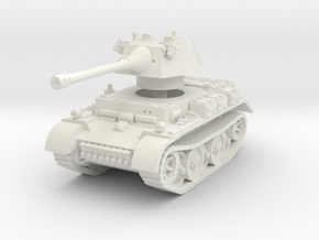 Panzer II L Puma turret 1/56 in White Natural Versatile Plastic