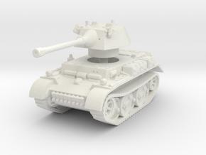 Panzer II L Puma turret 1/120 in White Natural Versatile Plastic