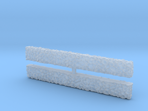 Stone Wall (x2) 1/120 in Smooth Fine Detail Plastic