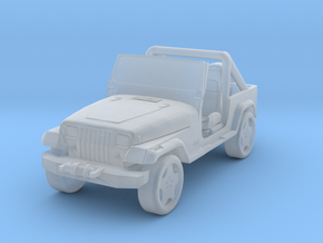 Jeep Wrangler YJ - Zscale in Smoothest Fine Detail Plastic