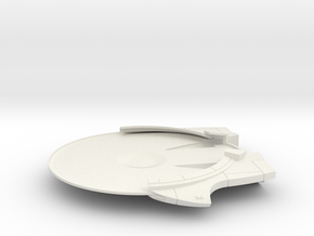 1/1000 Thufir Class Lower Saucer in White Natural Versatile Plastic