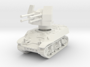 M3A3 with Flakvierling 38 1/56 in White Natural Versatile Plastic