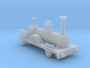 N gauge Jenny Lind in Smooth Fine Detail Plastic