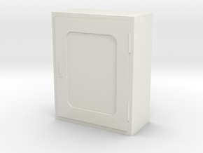 Fire Hose Box 1/35 in White Natural Versatile Plastic