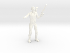 Lost in Space - 1.35 - Tucker - Sky Pirate in White Processed Versatile Plastic
