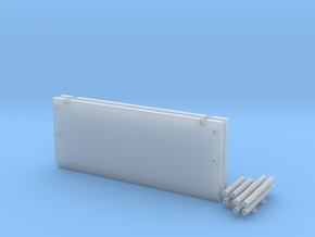 1:64 scale 20Ft Trench Box  in Smooth Fine Detail Plastic